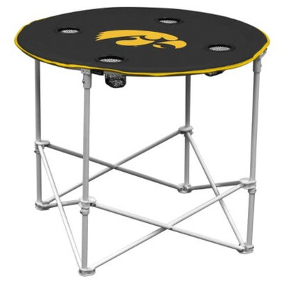 Logo Chair Company Iowa Hawkeyes Round Table
