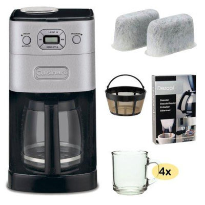 Cuisinart DGB-650BC Grind-and-Brew Thermal 10-Cup Automatic Coffeemaker, Brushed