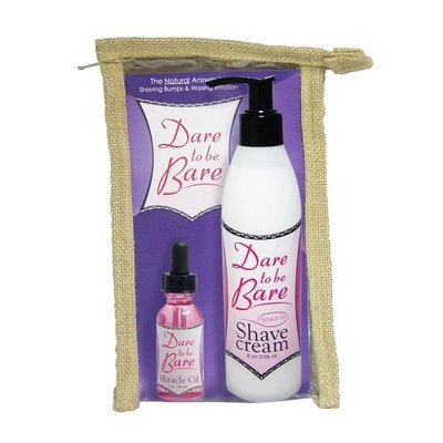 Earthly Body Dare Oil and Shave Cream Combo, Skinny Dip