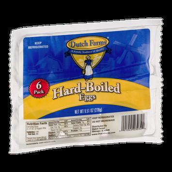Dutch Farms Hard-Boiled Eggs - 6 CT