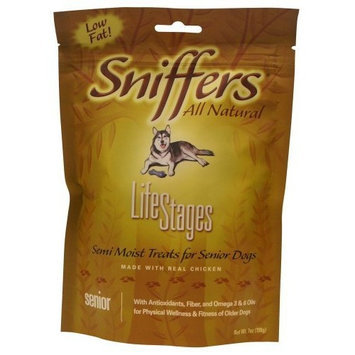 Sergeant's Pet Sergeant's Sniffers Lifestages 7-Ounce Senior Dog Treat