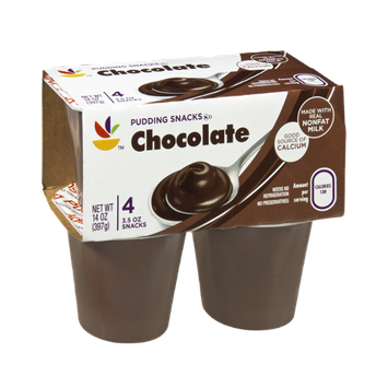 Ahold Chocolate Pudding Snacks - 4 CT