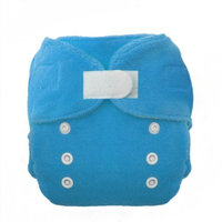 Thirsties Duo Fab Fitted Cloth Diapers, Ocean Blue, Size Two (18-40 lbs)