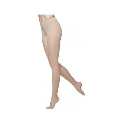 Sigvaris 770 Truly Transparent 30-40 mmHg Women's Pantyhose Size: Large Short, Color: Natural 33