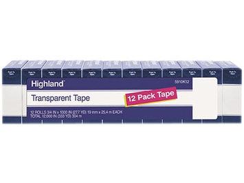 3M 5910K12 Highland Transparent Tape