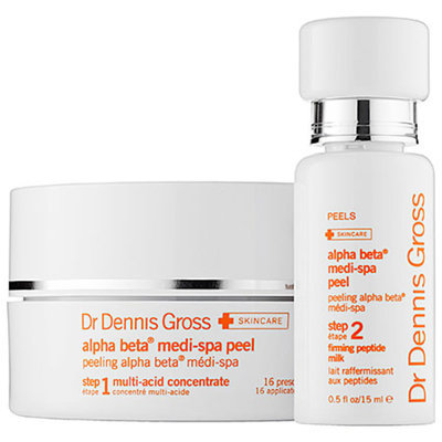Dr. Dennis Gross Skincare Alpha Beta(R) Medi Spa Peel 16 Treatments (Step 1) + 0.5 oz step 2
