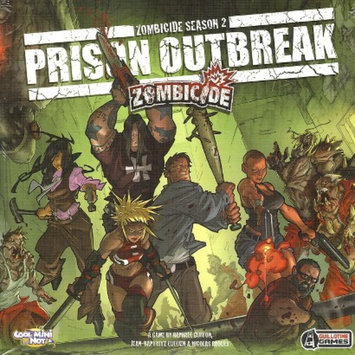 Guillotine Games Zombicide Season 2: Prison Outbreak Board Game
