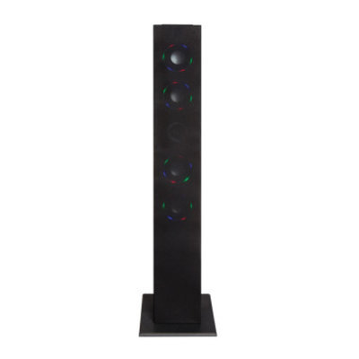 Craig Color Changing Bluetooth Tower Speaker System with FM Radio