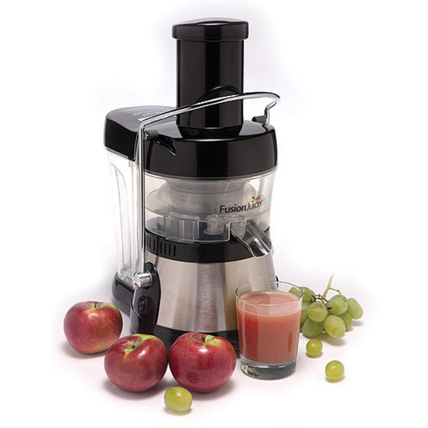 Fusion Juicer, Black/Stainless Steel