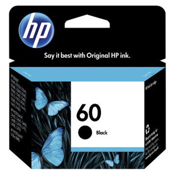 Remanufactured Replacement for Hewlett Packard CC640WN (HP 60) Black Ink Cartridge