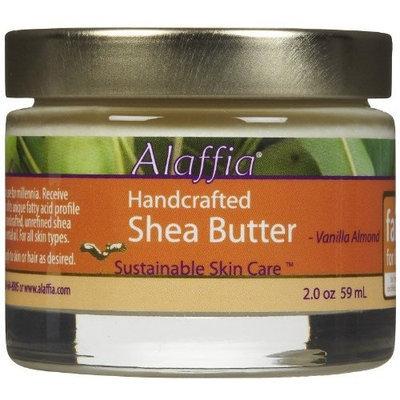 Alaffia Handcrafted Shea Body Butter, Vanilla Almond, 2 oz