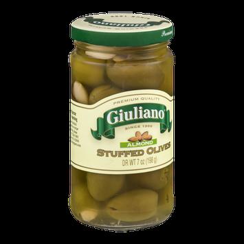 Giuliano Stuffed Olives Almond