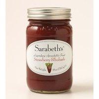 SARABETH'S STRAWBERRY RHUBARB JAM 18 oz