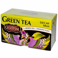 Celestial Seasonings Green Tea Caffeine Free Mint 20 Tea Bags Case of 6