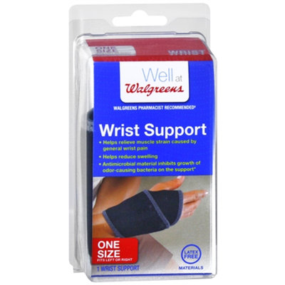 Walgreens Wrist Support, One Size, 1 ea