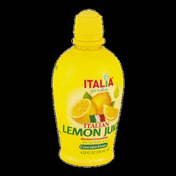 Italia Garden Italian Lemon Juice