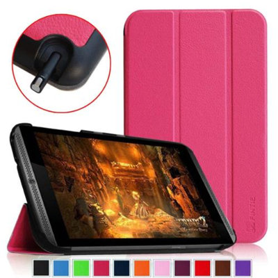NVIDIA Shield Tablet Cover - Fintie SmartShell Ultra Slim Lightweight Stand Case (Auto Wake/Sleep), Multicolor