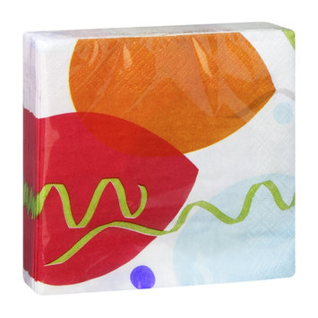 Hallmark Celebration Balloons Party Napkins - 16 CT