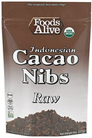 Foods Alive - Raw Indonesian Cacao Nibs - 8 oz.