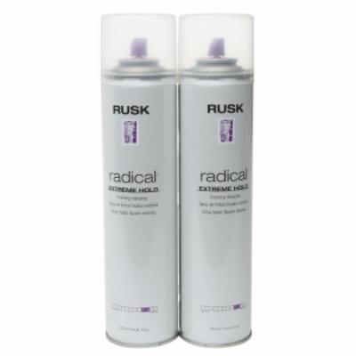 Rusk Radical Extreme Hold Finishing Hairspray - Double Pack, 1 set