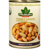Bioitalia Mixed Beans, 14-Ounce (Pack of 12)