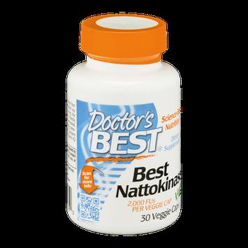 Doctor's BEST Best Nattokinase Veggie Caps - 90 CT