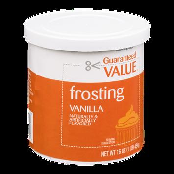 Guaranteed Value Frosting Vanilla