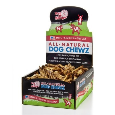 Pet Ventures Inc Pet 'n Shape Duck Feet All Natural Dog Chewz 100ct case
