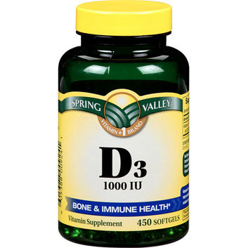 Spring Valley D-3 High-Potency Vitamin Dietary Supplement