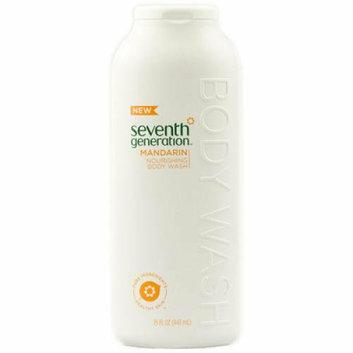 Seventh Generation Nourishing Body Wash Mandarin 15 fl oz Case of 3