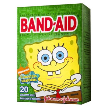 Band-Aid Band-aid SpongeBob Squarepants Brand Adhesive Bandages - 20 Count