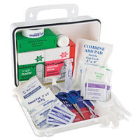 Mabis Plastic First Aid Kit - 75 Pieces