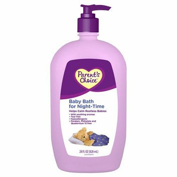 Parent's Choice Baby Bath for Night-Time