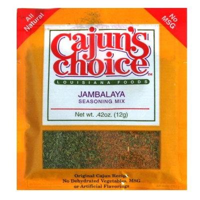 Cajun Choice Seasoning Mix Jambalaya, 0.42-Ounce (Pack of 12)