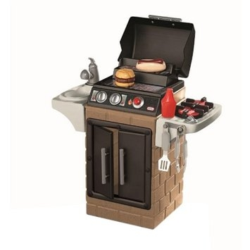 Little Tikes Backyard Barbecue Get Out 'n' Grill, Brown, 1 ea