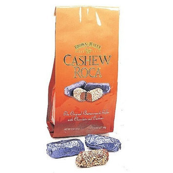 Cashew Roca Buttercrunch Toffee, 5-Ounce Bags (Pack of 2)