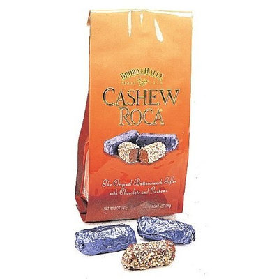 Cashew Roca Buttercrunch Toffee, 5-Ounce Bags (Pack of 2)