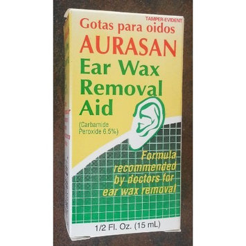Aurasan EAR WAX Removal AID 1/2 Oz. (15ml)
