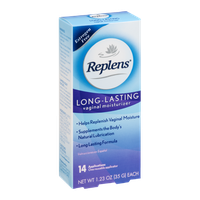 Replens Long-Lasting Vaginal Moisturizer - 14 CT