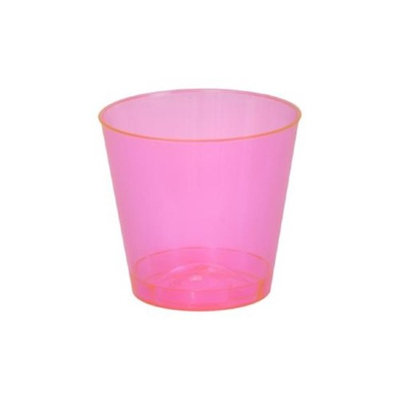 Fineline Settings 401-RD Red 1 Oz. Shot Glass