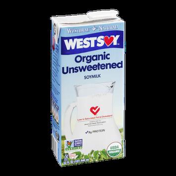 WestSoy Organic Unsweetened Soymilk