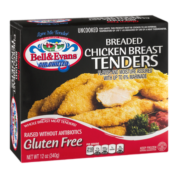Bell & Evans Air Chilled Breaded Chicken Breast Tenders
