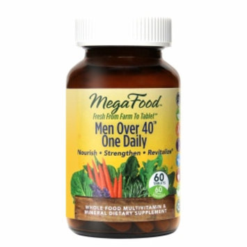 MegaFood Men Over 40 One Daily Multivitamin