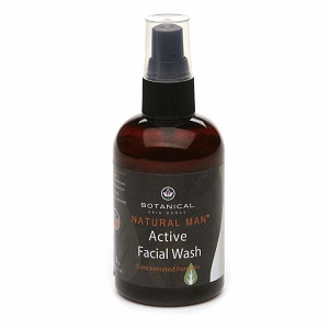 Botanical Skin Works Men's Active Facial Wash Concentrated Formula