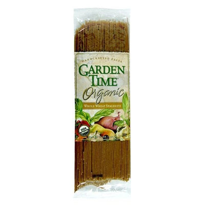 Garden Time Organic Whole Wheat Whole Wheat Spaghetti, 12-Ounce Units (Pack of 12)