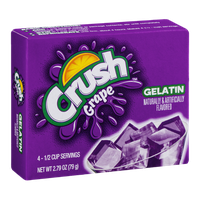 Crush Gelatin Mix Grape