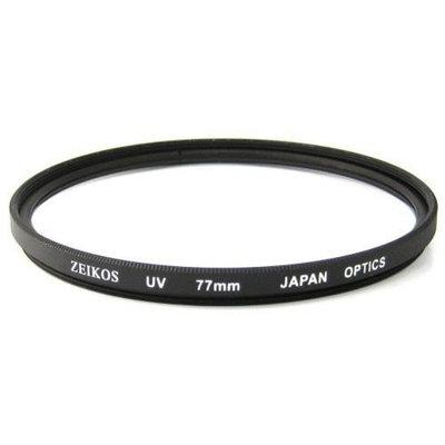 Zeikos 77mm UV Ultraviolet Glass Filter
