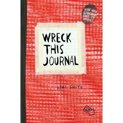 Wreck This Journal: Red