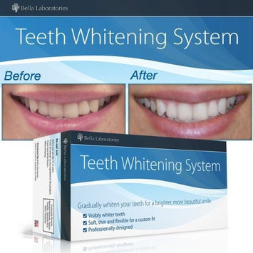 Teeth Whitening System by Bella Laboratories - Teeth Whitener Gel for a Brighter, Lighter, Whiter Smile - 30-Day Supply