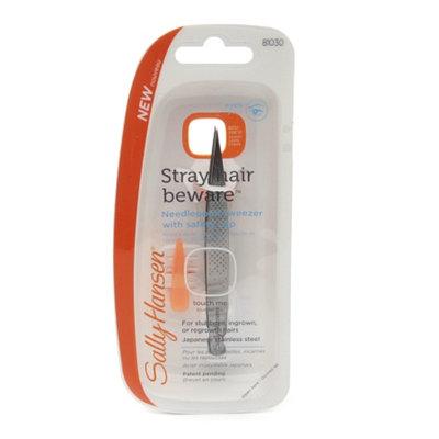 Sally Hansen Stray Hair Beware - Needlepoint Tip Tweezer with Safety Cap